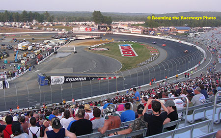 For Two Years The Grc Rallycross Circuit Raced At The New Hampshire Motor Speedway The Track Used The Pit Road Frontstretch And Turn One Area Of The